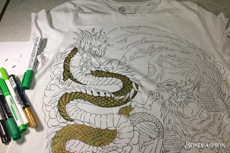 Рисуем сами на футболке